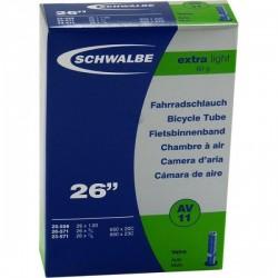 Камера Schwalbe 559x18/25 Schrader AV11 40 мм Extra light 10422310