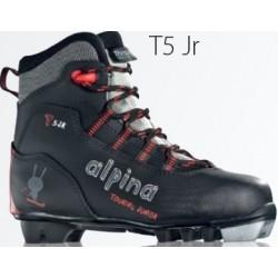 Ботинки Alpina T5 Jr. дет. черн. р.34 59A1-1K-34