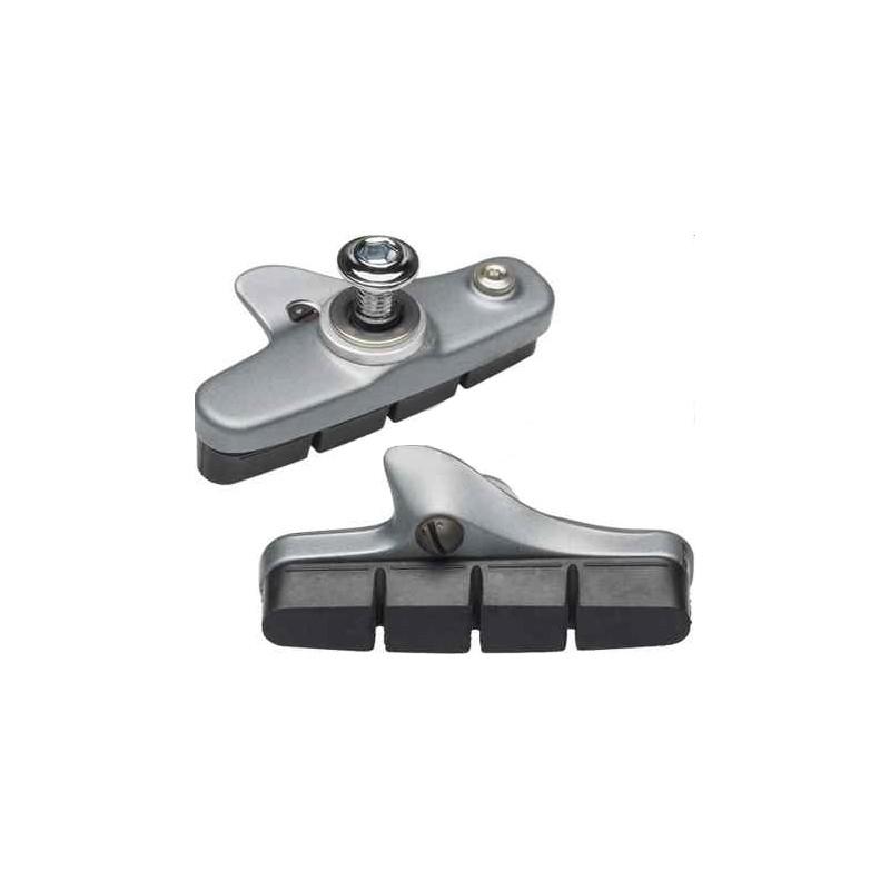 Тормозные колодки Shimano R55C3 шоссейные, серебристые Y8JC98040