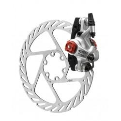 Тормоз механический дисковый Avid BB7 Road Platinum, с адаптером и ротором G2CS 160 мм 00.5016.166.040