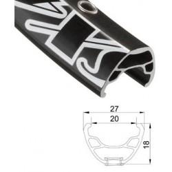 Обод AlexRims SX44 622x20 мм, черный, 32 отверстия, под дисковый тормоз, F/V 6-142944