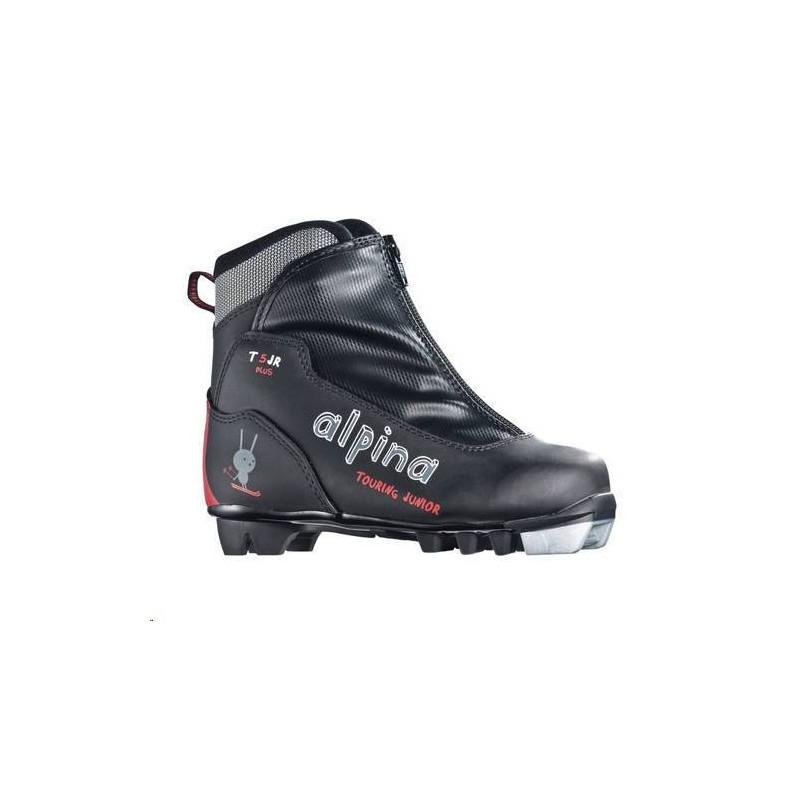 Ботинки Alpina T5 Plus Jr. дет. черн. р.33 5956-1K-33