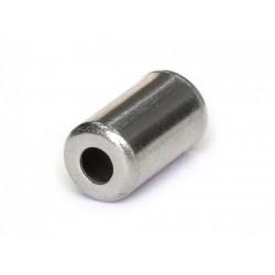 Концевик для оплетки троса Clarks CX15DP, 5 мм, сталь 3-061