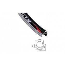 Обод AlexRims DC19 622x16 мм, двойной, черный, 32 отверстия, F/V 6-152819