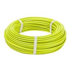Оплетка для троса тормоза Stels, флуоресцентный желтый, 5 мм, 1 метр 340049