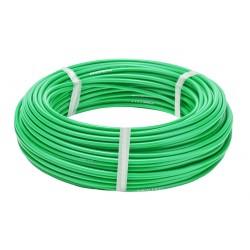 Оплетка для троса тормоза Stels, флуоресцентный зелёный, 5 мм, 1 метр 340050
