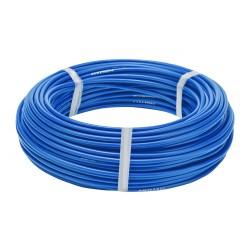 Оплетка для троса тормоза Stels, синий, 5 мм, 1 метр 340053