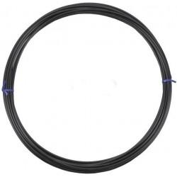 Оплетка для троса тормоза Stels, черный, 5 мм, 1 метр 340015