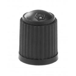 Колпачок ниппеля AV , черный, пластиковый H410004