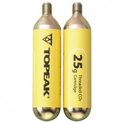 Набор картриджей Topeak CO2 25G 2 шт TCO25-2
