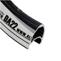 Обод AlexRims DA22 622x14 мм, двойной, черный, 32 отверстия, F/V 6-152822