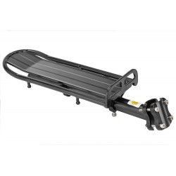 Багажник BLF-H12 универсальный, черный, на подседельный штырь BLF-H12