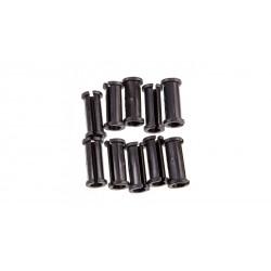 Крепление рубашки/гидролинии Jagwire, под диаметр 5 мм, черный, 1 шт