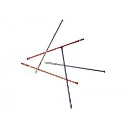 Ниппель Crankbrothers алюминий 139x3.2 мм, красный 11242