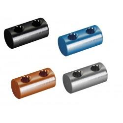 Бочонок Crankbrothers алюминий 5.95 мм, 3 отверстия, синий