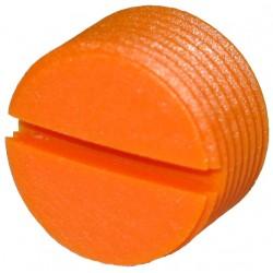 Заглушка в педали Crankbrothers пластиковая, оранжевый 13132