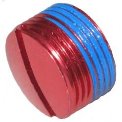 Заглушка в педали Crankbrothers алюминиевая, красный 13139