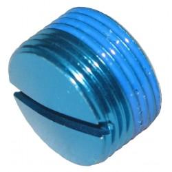 Заглушка в педали Crankbrothers алюминиевая, голубой 13140