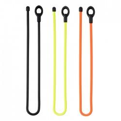 Гибкие стяжки NiteIze Gear Tie Loopable 12, 2 шт, оранжевые GLS12-31-2R7