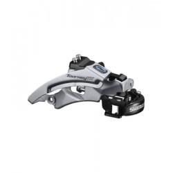 Переключатель передний Shimano Tourney FD-TX800, Top Swing, универсальная тяга и хомут EFDTX800TSX6