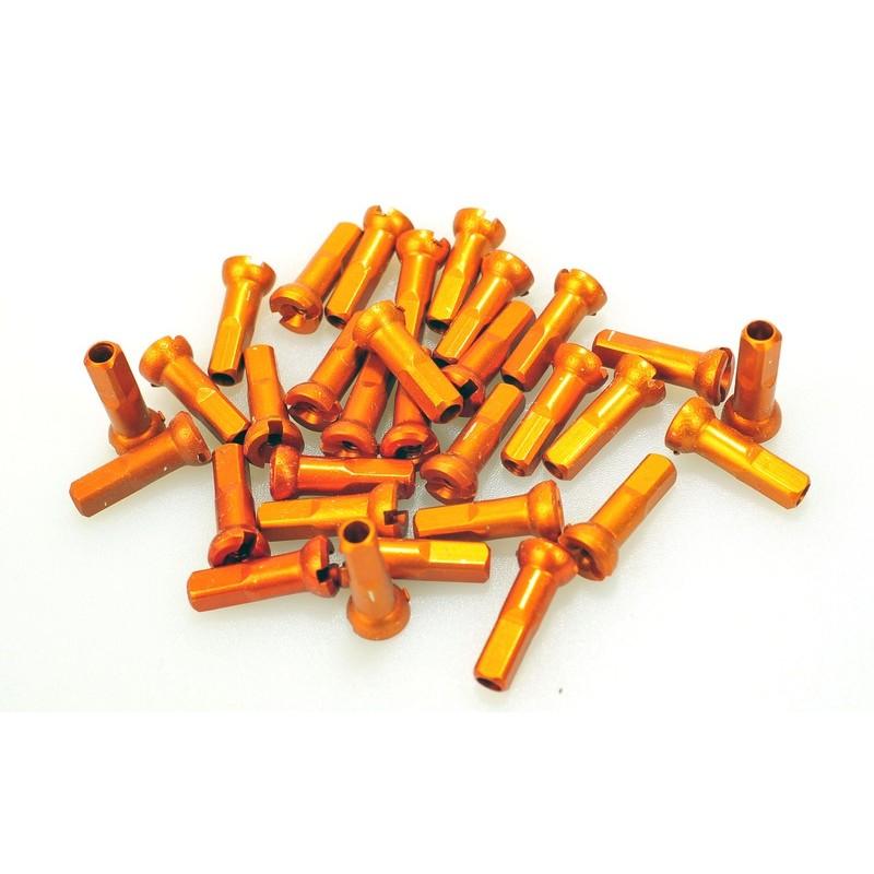 Ниппель Sapim Polyax алюминий 14G, 14 мм, оранжевый GAP1401400JSAPCPA23