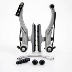 Тормоз v-brake Shimano Alivio BR-T4010, серебристый, передний, S70C EBRT4010FX41SSP