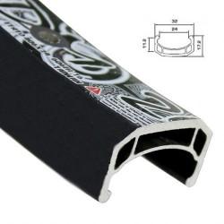 Обод AlexRims DM24 406x24 мм, двойной, черный, 32 отверстия, A/V DM24_32H_black_406x24