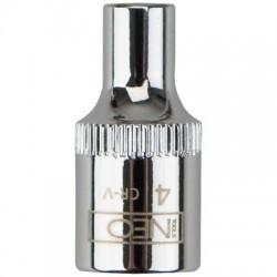 Головка торцевая 1/4, 4 мм, Neo 08-220