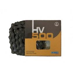 Цепь KMC HV500, 116 звеньев, 7 скоростей, с замком, 1/2x3/32 kmc_hv500_116