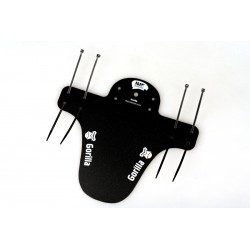 Мини-крыло GORILLA, короткое, черное с белым IP-G01