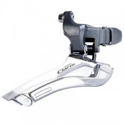 Переключатель передний Shimano Claris FD-2400, 2x8 скоростей, на хомут  34.9 мм EFD2400BL
