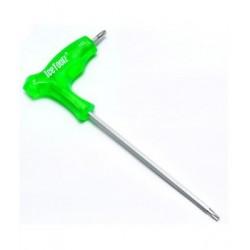 Ключ Г-образный IceToolz Torx T25 с пластиковой ручкой 7T25