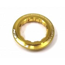 Стопорная гайка Token для кассеты Shimano 11T,  золотая TK041S Gold