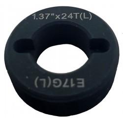 Направляющая гайка IceToolz E171L в каретку левая сторона, дюймовый тип 1.37x24TPI E171L