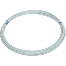 Оплетка для троса тормоза Clarks Y1005DB, белая, 5 мм, 1 метр 3-311