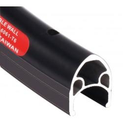Обод Shining A-M5 622x14 мм, двойной, черный, 32 отв, F/V 6-162825