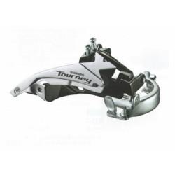 Переключатель передний Shimano Tourney FD-TY500, универсальная тяга и хомут EFDTY500TSX6