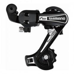 Переключатель задний Shimano Tourney RD-TY21-A-GS, на болт, черный, б/упак ARDTY21AGSBL