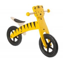 Беговел деревянный TIGER 12, желтый 5-659979
