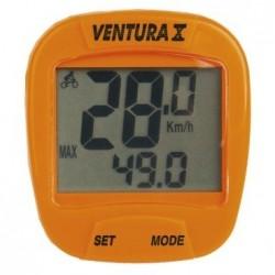 Велокомпьютер Ventura X, 10 функций, оранжевый 5-244553