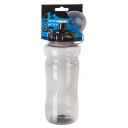 Фляга пластиковая M-Wave 700 мл серо-прозрачная, с крышкой 5-340300