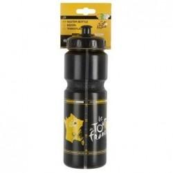 Фляга пластиковая Ventura Tour De France 800 мл черно-желтая, с колпачком 5-341223