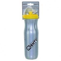 Фляга пластиковая MIGHTY 500 мл серебристая, термо 5-340320