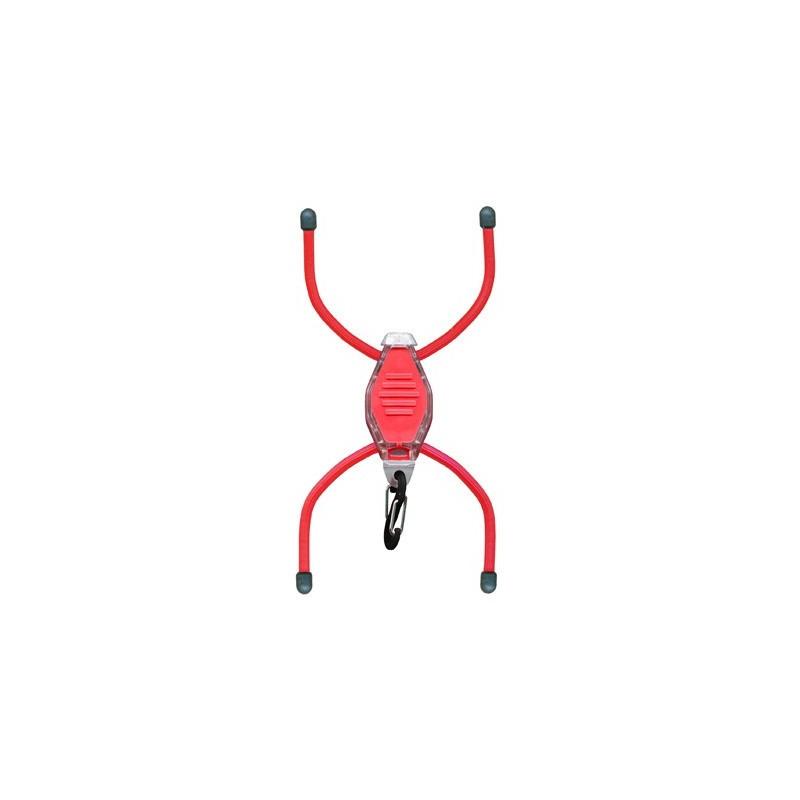 Маркер светящийся Nite Ize BikeBug красный, белый светодиод BGT10W-07-0110