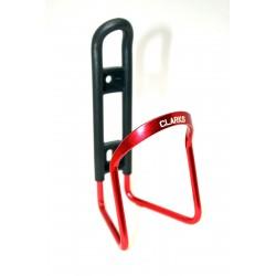 Флягодержатель алюминиевый CLARK`S BC-20, красный 3-162