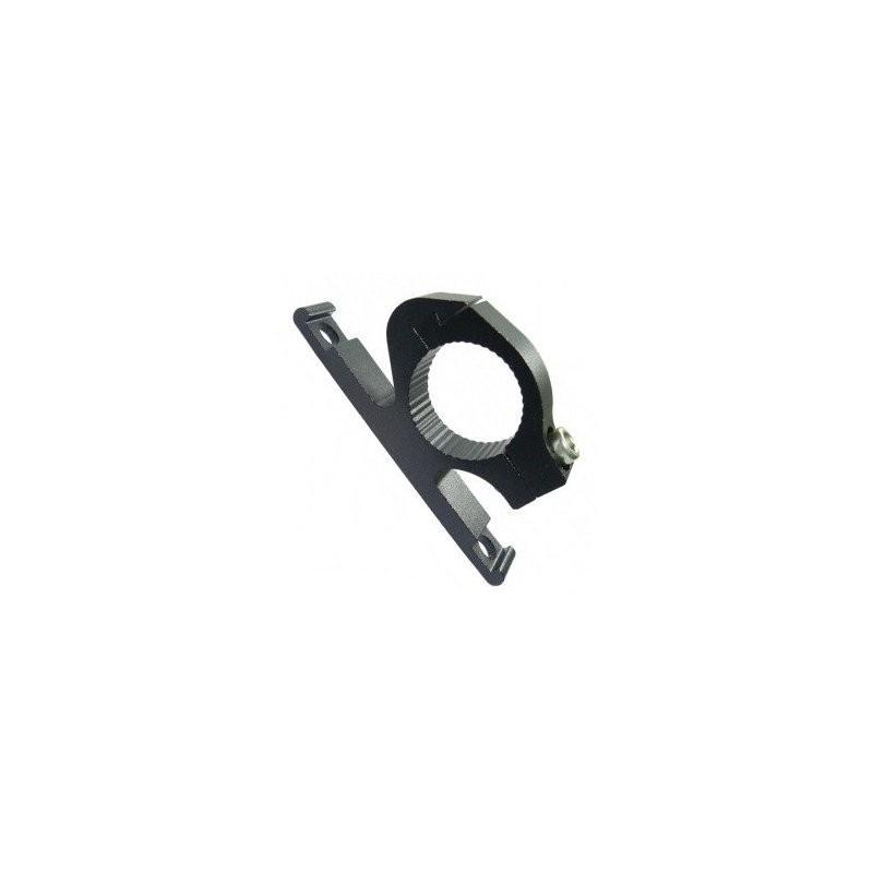 Флягодержатель алюминиевый OSTAND CD-02, черный на руль 6-150002