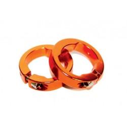 Стопорное кольцо для грипс Clark's CLR, золотистые, пара 3-304