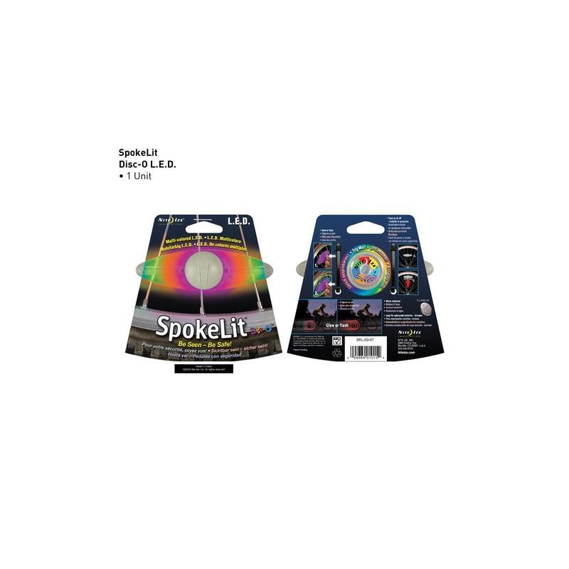Маркер светящийся Nite Ize SpokeLit, диско, на спицы SKL-03-07