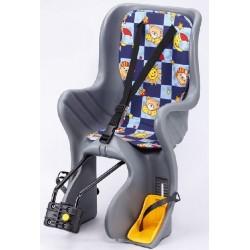 Кресло детское заднее SF-928LG, серое 6-639157