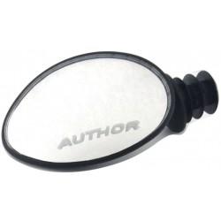 Зеркало заднего вида в торец руля Author AM-70, панорамное, овальное 8-16450005